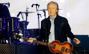 Le musicien Paul McCartney
