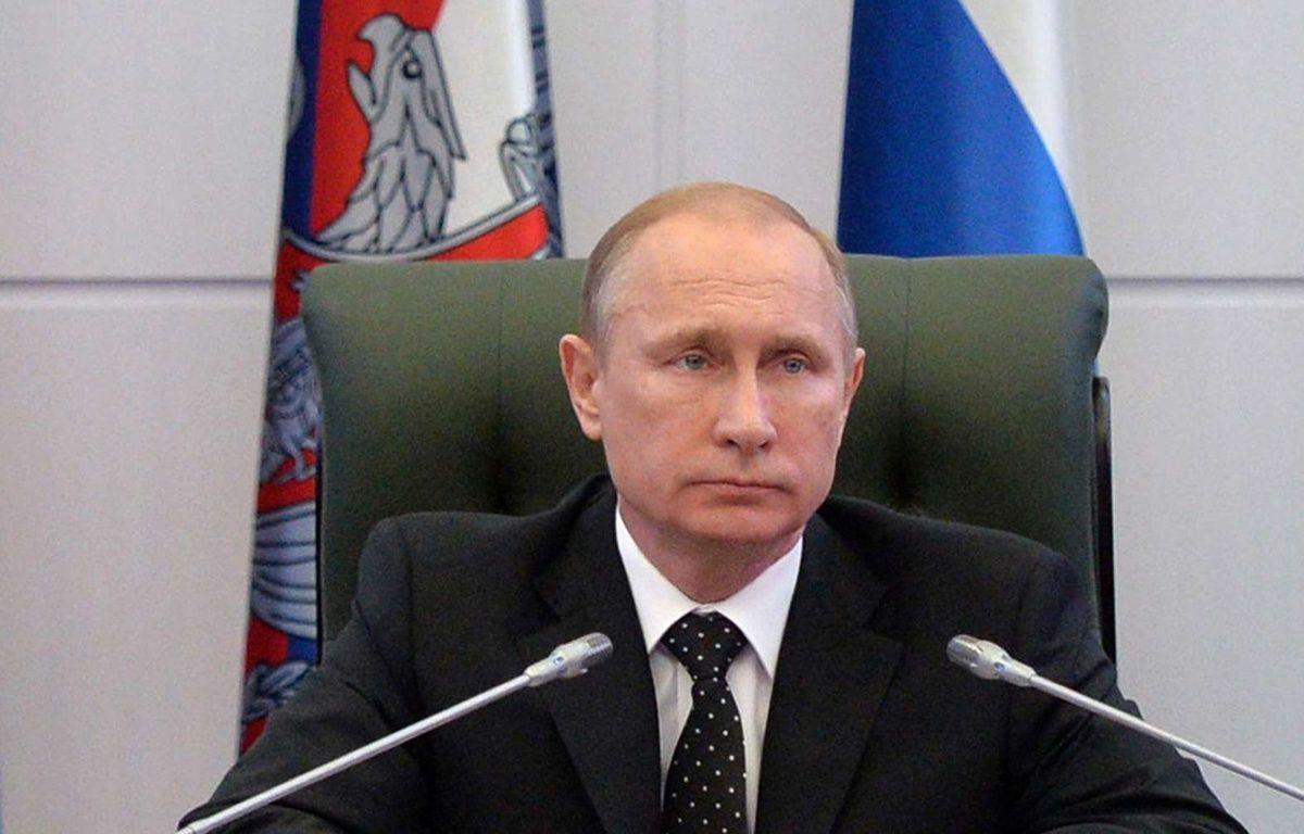 Vladimir Poutine, le 19 décembre 2014 à Moscou. – Alexei Druzhinin/AP/SIPA