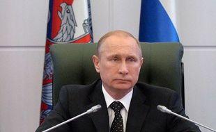 Vladimir Poutine, le 19 décembre 2014 à Moscou.
