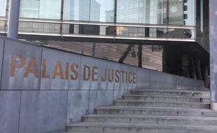 Le palais de justice de Grenoble, en Isère.