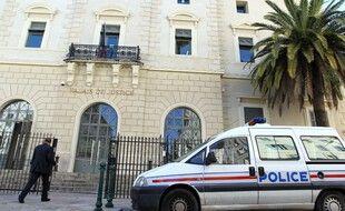 Le palais de justice d'Ajaccio. (archives)