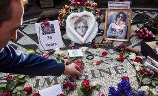 Place John Lennon à New York.