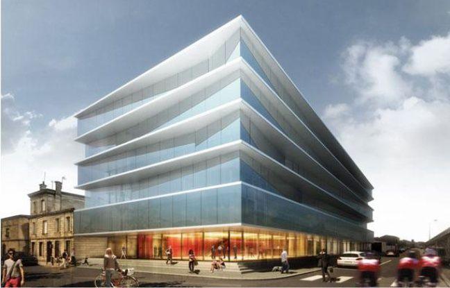 L'immeuble de bureaux rue Terres de Borde accueuillera notamment Pôle Emploi
