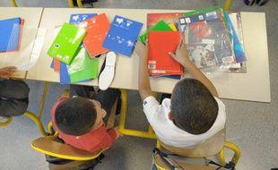 Dans une école primaire (illustration)