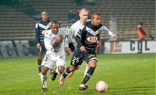 Le Brésilien Mariano s'est montré très offensif pour sa première titularisation à Bordeaux.