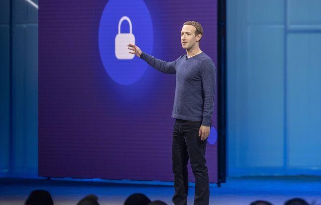 Le patron de Facebook, Mark Zuckerberg, en mai 2018.
