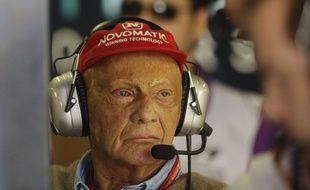 Niki Lauda, ici en novembre 2017, est mort lundi à l'âge de 70 ans.