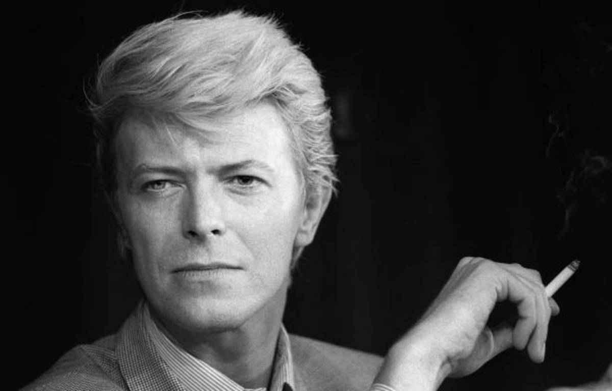 David Bowie en mai 1983, au Festival deCannes. – RALPH GATTI / AFP