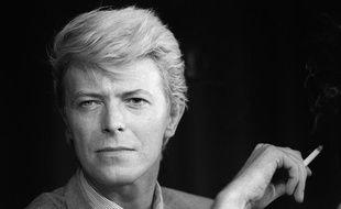 David Bowie en mai 1983, au Festival deCannes.