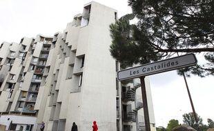 L'immeuble des Castalides, encore habité, à l'été 2013. Archives.