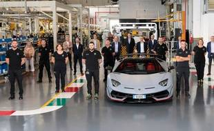 Lamborghini Aventador 10.000ème