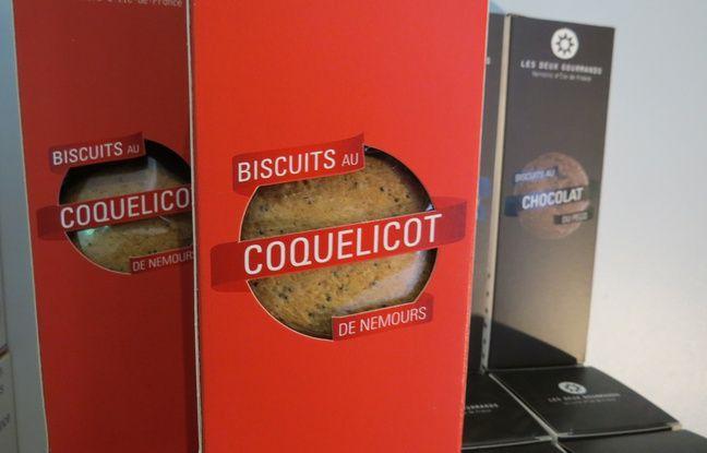 Biscuits des Deux Gourmands, produits dans une ferme dans les Yvelines, à moins de 100km de Paris.