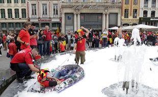Pas d'incident majeur à déplorer à Lille.