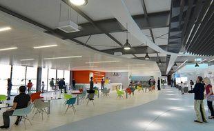 Une vue du projet d'agrandissement de l'aéroport de Montpellier.