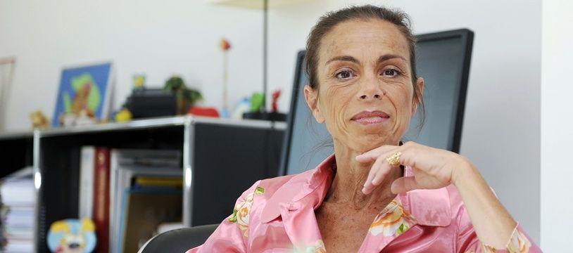 Agnès Saal à l'INA en juillet 2014.