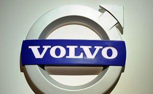 Image d'illustration d'un logo Volvo.