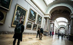 Le musée du Louvre expose des œuvres spoliées pendant la Seconde Guerre mondiale.