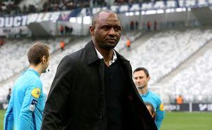 Patrick Vieira, l'entraîneur de l'OGC Nice
