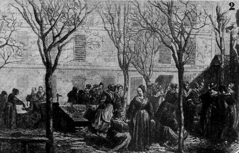 Prisons disparues: A Saint-Lazare, des femmes meurtrières, prostituées, voleuses, «infamies de la capitale»