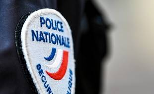 Un écusson de la Police nationale. (illustration)