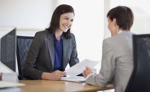 Un entretien de recrutement