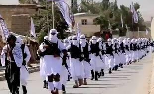 Des talibans paradent dans la province de Zabul, au sud-est de l'Afghanistan. (Illustration)