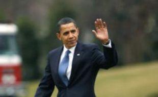 Barack Obama se rend au Canada pour son premier voyage officiel