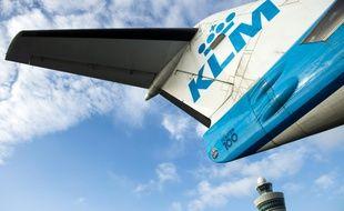 Un avion de la compagnie aérienne KLM (illustration).