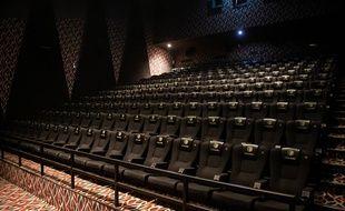 Illustration d'une salle de cinéma