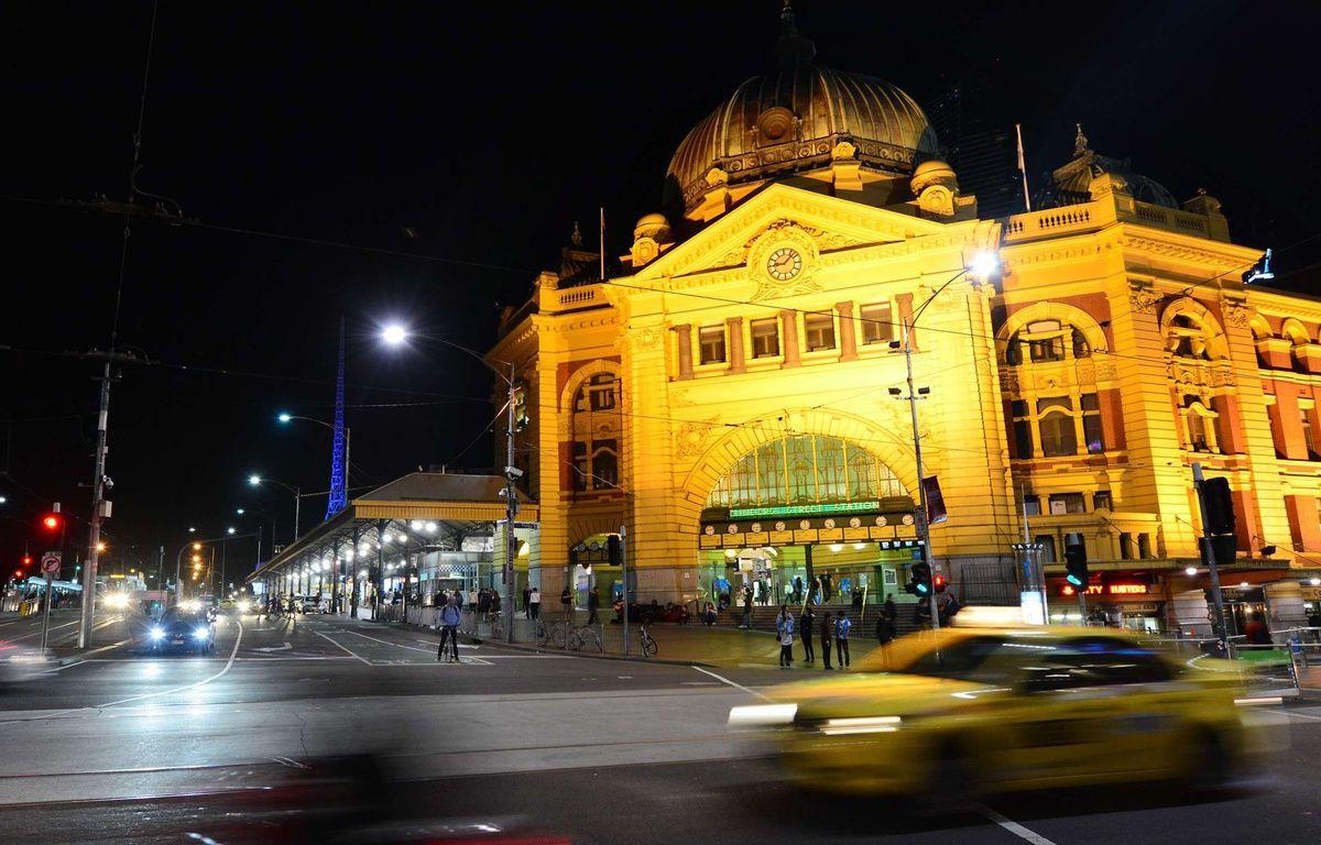 La gare de Melbourne était l'un des lieux visés par un complot terroriste, selon la police. – Rafael Ben-Ari/Cham/NEWSCOM/SIPA