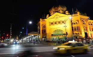 La gare de Melbourne était l'un des lieux visés par un complot terroriste, selon la police.