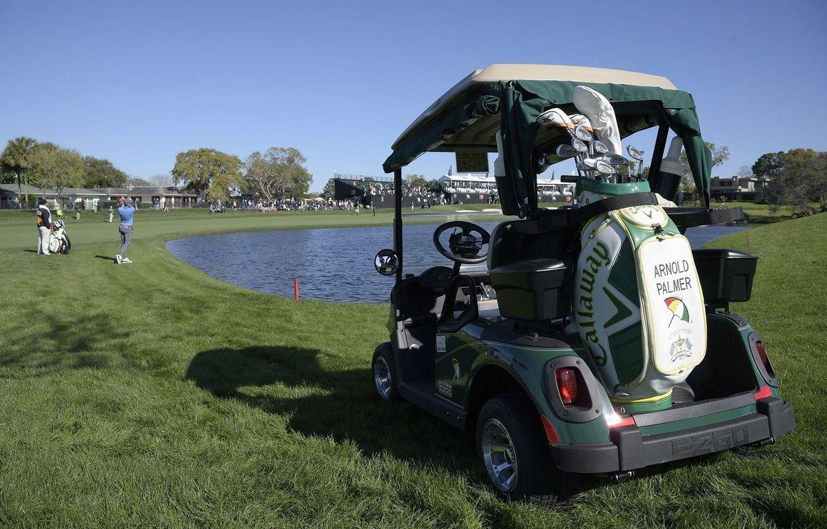 Une voiturette de golf (illustration). – Phelan M. Ebenhack/AP/SIPA