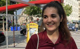 Inès Belhous, 24 ans, a rencontré 20 Minutes quelques jours après avoir reçu le Prix Deloitte du service civique.