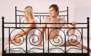 Les hommes machos seraient plus concernés par des problèmes d'érection (illustration)