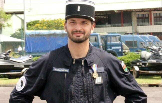 L'adjudant Alain Nicolas, tué par un forcené dans le Var le 21 mai 2016.