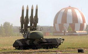 Illustration de missiles russes Bouk M2.