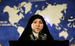 Marzieh Afkham, ex-porte-parole du ministère iranien des Affaires étrangères devenu la première femme ambassadeur du pays depuis 1979, ici le 5 novembre 2013 à Téhéran