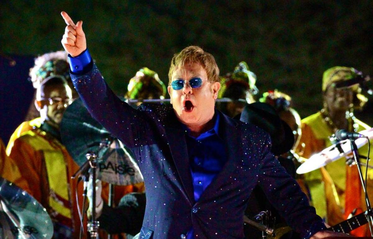 Elton John sur scène – WENN