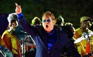 Elton John sur scène