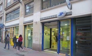 Le bureau de poste Decré à Nantes