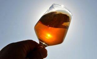 Un verre d'alcool, le 22 août 2011 à Terminiers