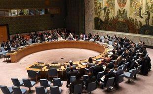 Le Conseil de sécurité de l'Onu, le 22 décembre 2014 à New York
