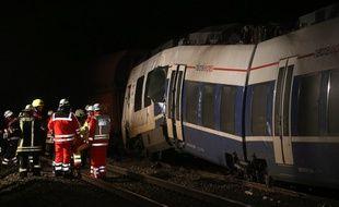 Deux trains sont entrés en collision en Allemagne, faisant plusieurs blessés.