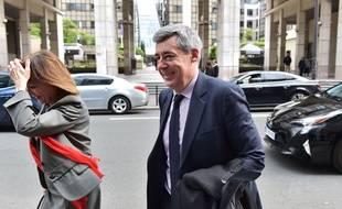 Henri Guaino (LR) à Paris le 2 mai 2017.
