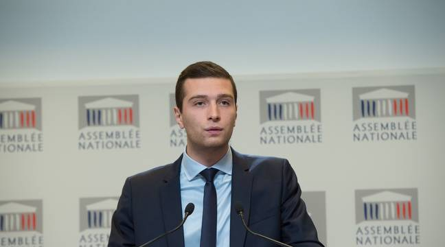 Qui est Jordan Bardella, favori pour être tête de liste Rassemblement national aux européennes?