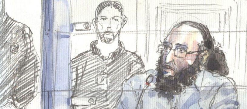 Abdelkader Merah lors de son interrogatoire sur la religion devant la cour d'assises speciale de Paris.