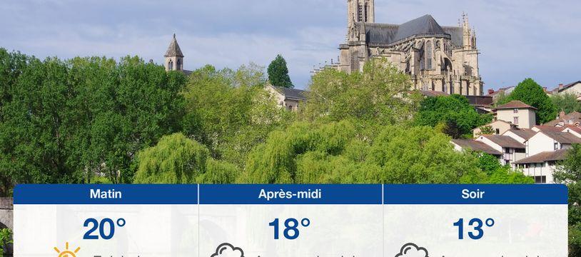 Météo Limoges: Prévisions du dimanche 20 juin 2021