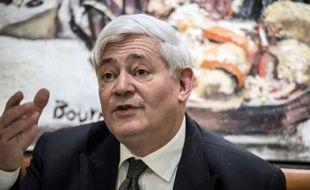 Bruno Gollnisch, eurodéputé FN, à Lyon le 30 janvier 2015