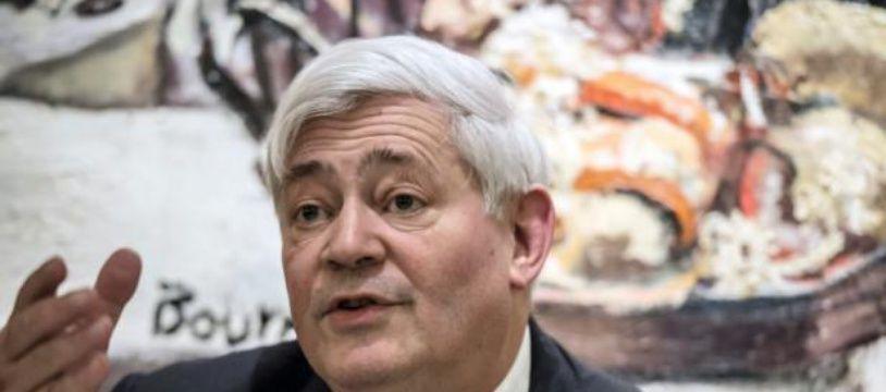 Bruno Gollnisch, eurodéputé FN, à Lyon le 30 janvier 2015.