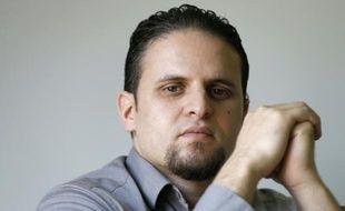 Un ex-détenu français de Guantanamo, Mourad Benchellali, le 13 mai 2015 à Gennevilliers